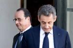 Holland Sarkozy Elysee 2012
