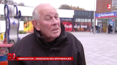 France 2 evening news, 24 November 2014.