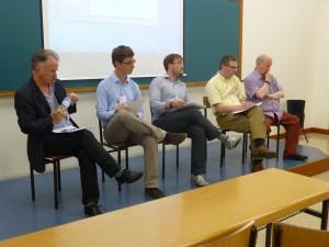 A brilliant panel in Bilbao: Douglas Webber, Magnus Schoeller, Miguel Otero, Simon Bulmer, Willie Paterson.