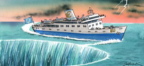 Cartoon by Schrank (The Economist)