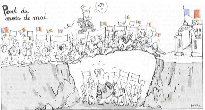 Plantu cartoon for Le Monde (May 2002)